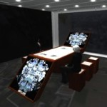Multi-agent virtual world as design platform