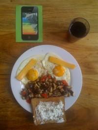 English breakfast variation