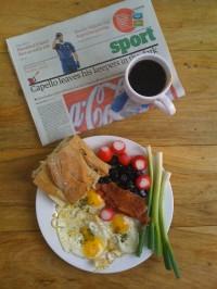 male breakfast